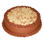 Chocolate Almond Cake To