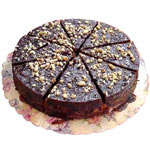 Cut Chocolate Cake To