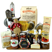 Delicious Italian Gourmet Gift Basket To