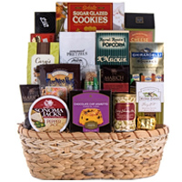 Sweet N Savory Party Gift Basket To