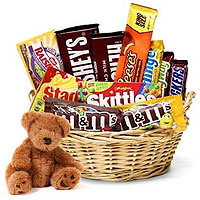 Sweet and Cute Christmas Miracle Gift Basket To