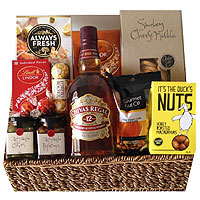 A Whiskey Lovers Gift Package To