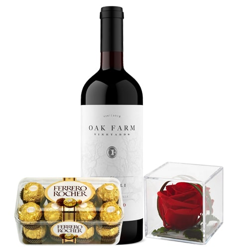 Sophisticated Wine with Gift Box