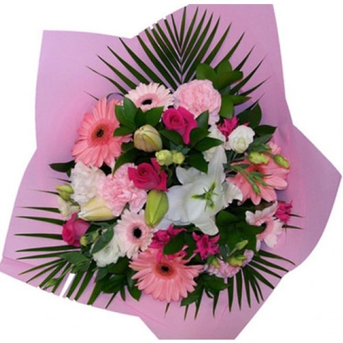 Gorgeous Colorful Flower Bouquet To