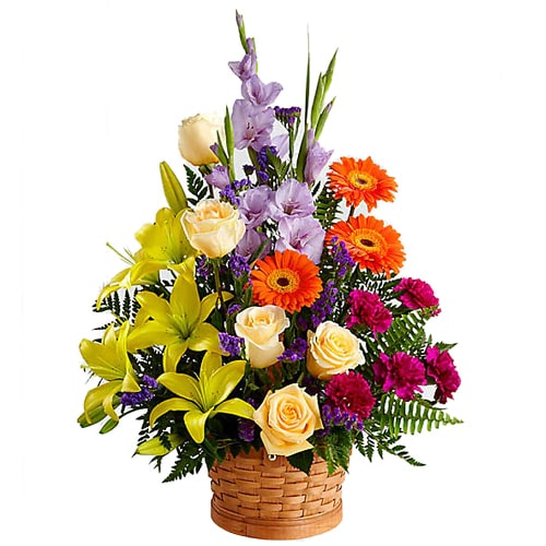 Premium Tempting Moments Round Flower Arrangement To