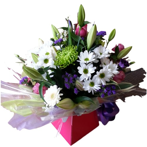 Pretty Bunch of Seasonal Flowers<br> To
