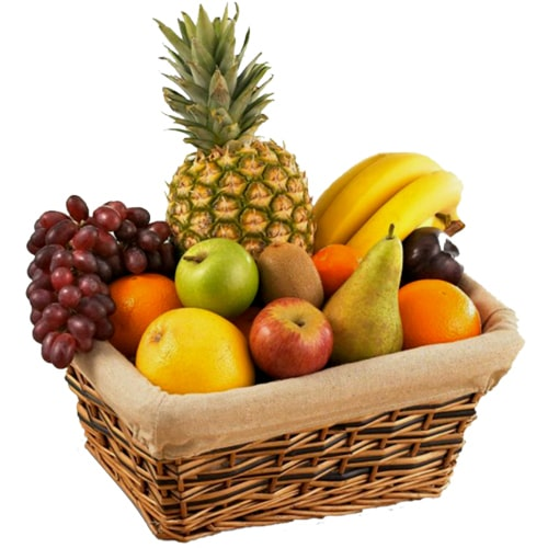 Vitamin-Rich Seasonal Fruits Basket on the Eve of Special Occasion