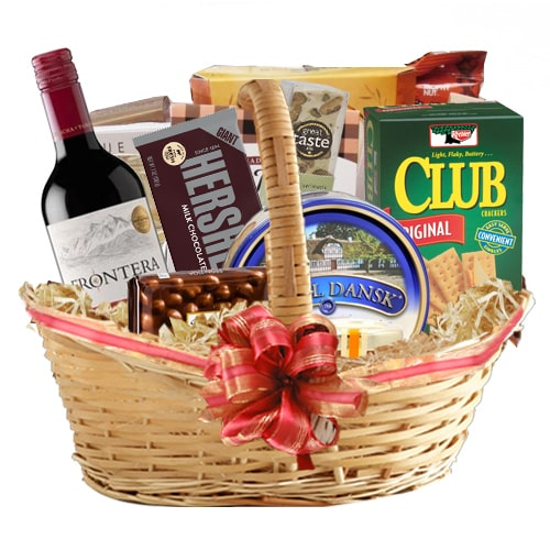 Wonderful Friends Forever Wine Basket