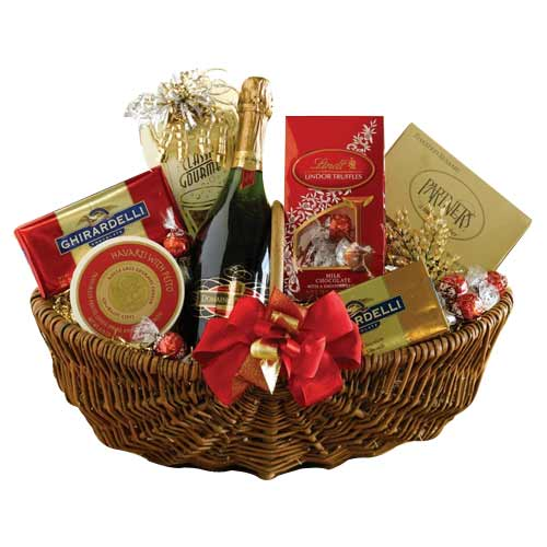 Sophisticated Wine Basket