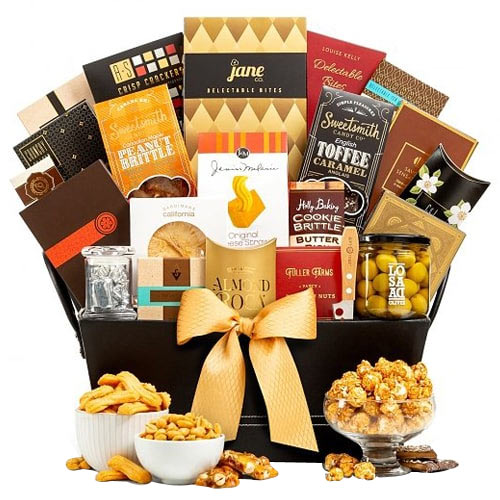 Fabulous Coffee and Crunchy Nut Hamper To