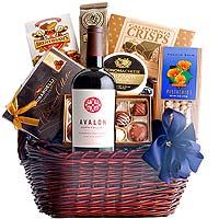 Gourmet Hamper with French Wine To
