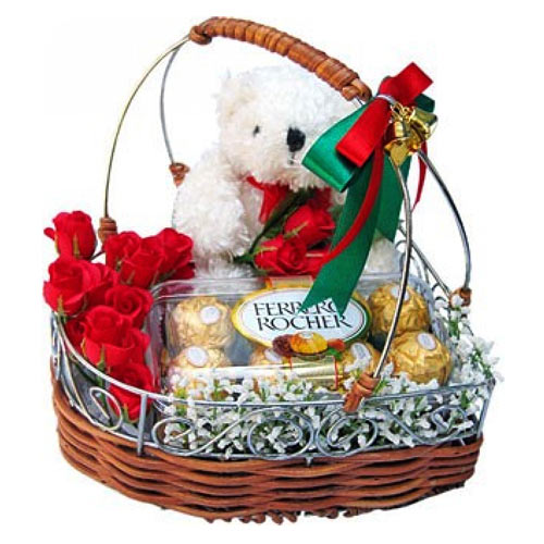 Wonderful Lasting Memories Gift Basket To