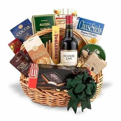 Adorable French Wine Gift Hamper To