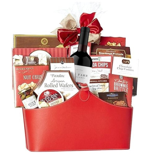 Wonderful Fun Time Gift Basket To