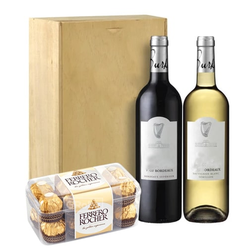 Appealing Red Wines and Chocolates To
