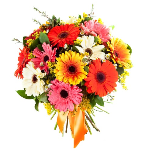 Treasured Sweet Memories with Love Mixed Flowers Bouquet To